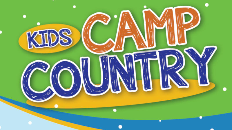 Kids Camp Country - Crafts, Games, Activities including a Marshmallow Roast.